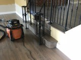 Hardwood refinish in Crowne Point