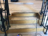 Refinish- prepping the stairs